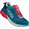 Hoka One One Arahi Running Shoes Men Blue Coral/True Red